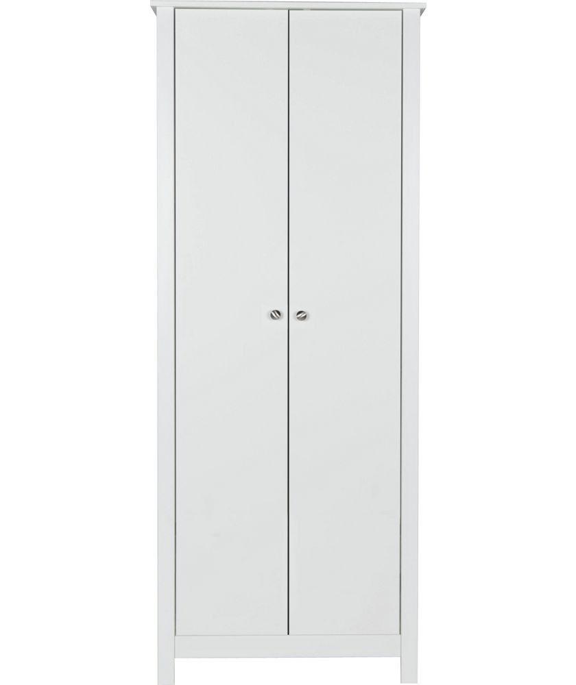 Osaka 2 door wardrobe - White