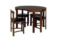 Dining table with 4-6 chairs