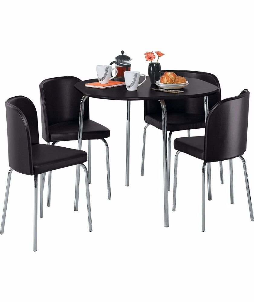 Hygena Amparo Table And Four Chairs Brand New Still Boxed From Argos