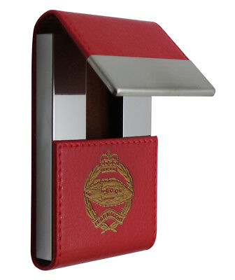 ROYAL TANK REGIMENT Card Case Engraved MILITARY ID Member Pass Holder Wallet
