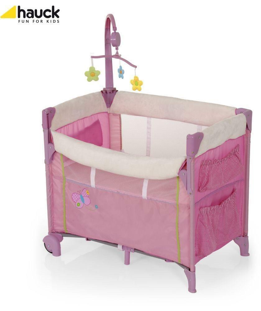 Travel Cot First Size Bassinet Moses Basket Crib In