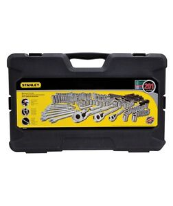 Stanley 201 Piece Tool Set Mechanics Sockets Wrenches Combination, STMT71654
