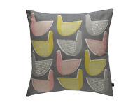 Habitat Pennie Multi-Coloured Bird Cushions - 45x45cm x3