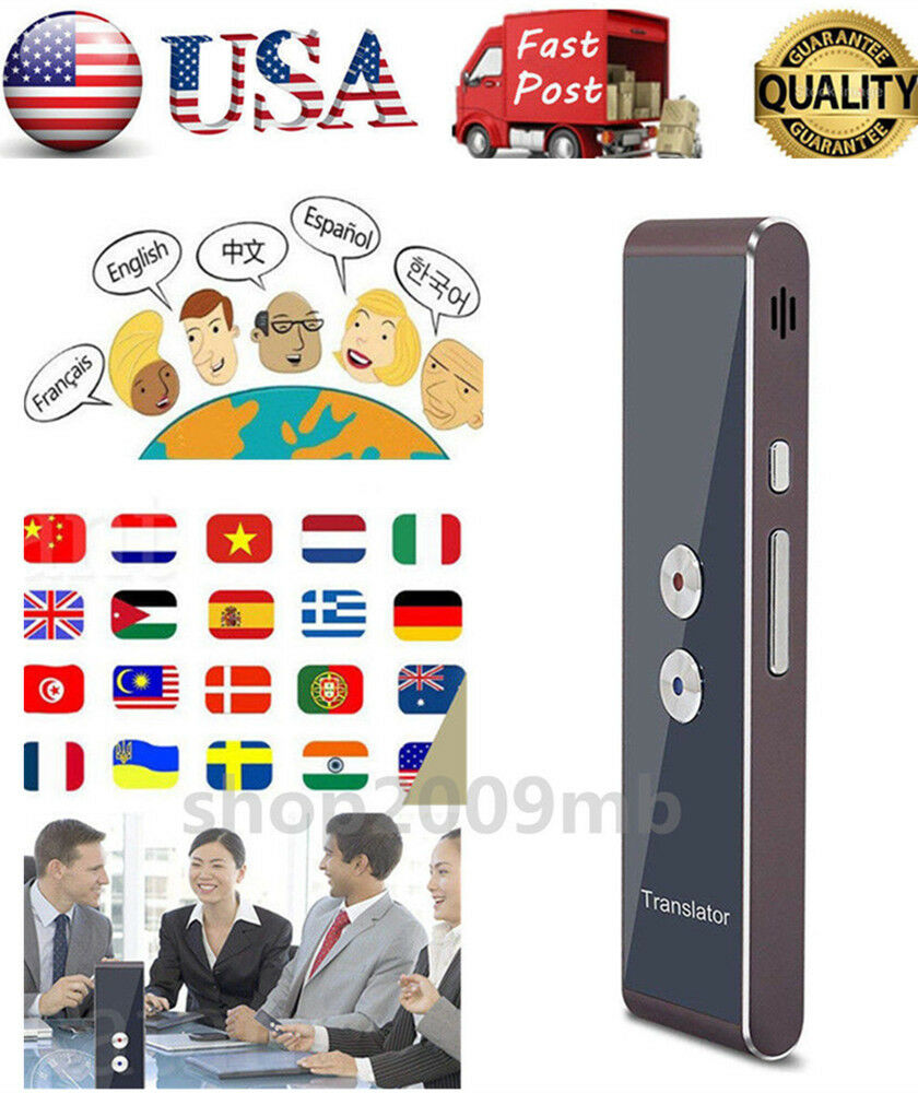 Easy Trans Smart Language Translator 33 Languages Instant Voice Speech Bluetooth