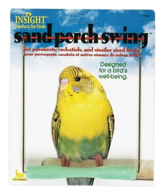 JW Pet Insight Sand Perch Swing Bird Toy Small