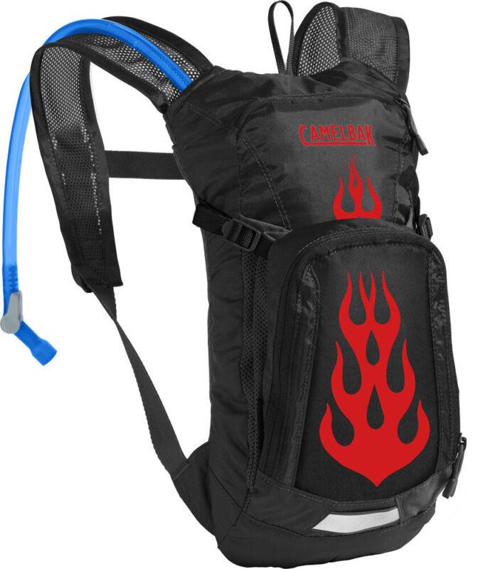 CamelBak Mini MULE 1.5L Kids Hydration Pack - Black/Flames