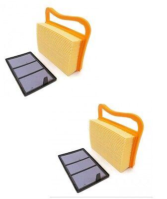 2 Air Filter Sets For Stihl Ts410 Ts420 Concrete Circular Cut-off Chop Saw