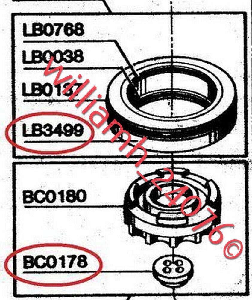 Senco Framing nailer SN325 Parts Seals LB3499 + BC0178