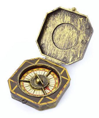 Piraten Kompass NEU - Zubehör Accessoire Karneval Fasching