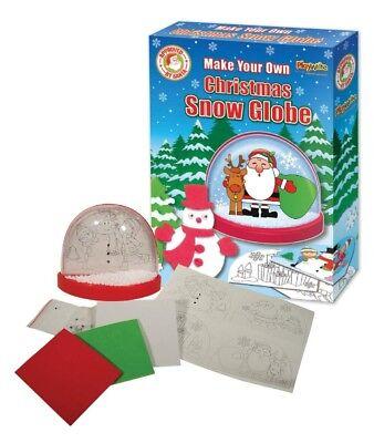 Make Your Own Christmas Xmas Snow Globe Stocking Filler Gift Idea (Make Your Own Snow Globe)