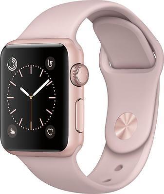 Open Box Excellent  Apple   Apple Watch Series 2 42Mm Rose Gold Aluminum Case