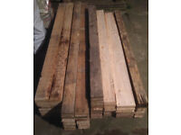 106 industrial pallet boards from 5ft 4in upto 6ft 6in all denailed