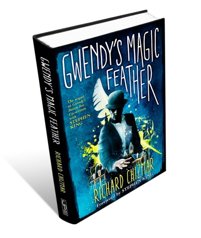 Trade HC GWENDY'S MAGIC FEATHER Richard Chizmar Signed By Author