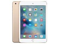 Apple iPad Mini 3 Gold 64GB Wi-Fi Cellular
