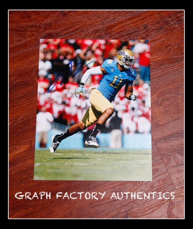 **GFA UCLA Minnesota Vikings * ANTHONY BARR * Signed 11x14 Photo MH1 COA**