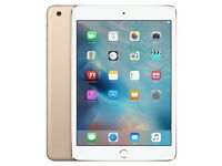 Apple iPad Mini 3 Gold 64GB Wi-Fi Cellular