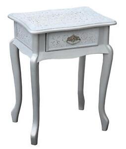Short Bedside Table white bedside table | ebay