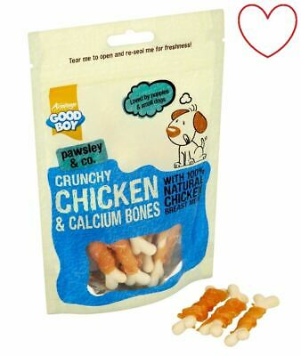 Puppy Treats Chicken Bones Calcium Healthy Dog Chews Good Boy