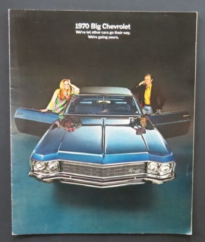 1970 Chevrolet Dealer Brochure