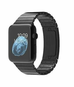 20f57735b1fc Apple Watch 42mm Stainless Steel Case Space Black Link Bracelet -  (MJ482LL/A)