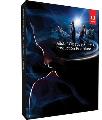 Adobe Production Premium CS6 Mac Download from Adobe