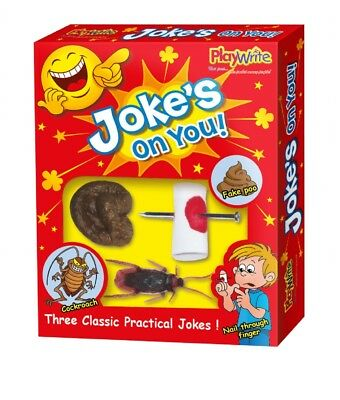 Joke's su Tu 3 Confezione - Scarafaggio Bisogni Unghie Pratico Scherzo Trucco