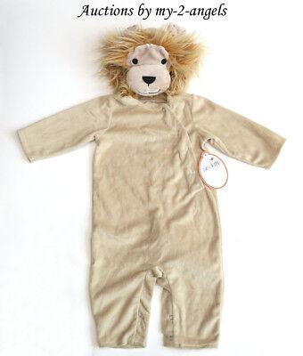 Halloween Costume Baby Lion (NEW Pottery Barn Kids Halloween BABY LION COSTUME 12-18 MOS NWT *wild zoo)