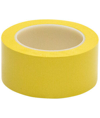 Vinyl Floor Safety Marking Tape 2 X 36 Yd 6mil Pvc Yellow 1 Roll