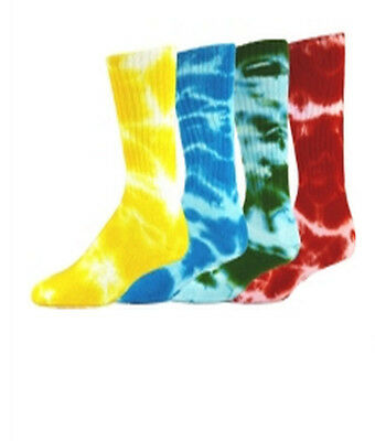 NEW RED LION REBEL TIE DYED ATHLETIC CREW SOCKS SOCCER BASKETBALL VOLLEYBALL