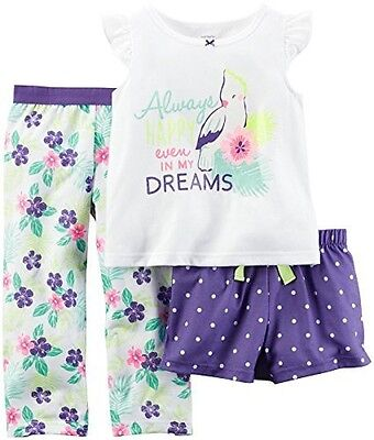 Carters 3 Pc Poly Print 4T