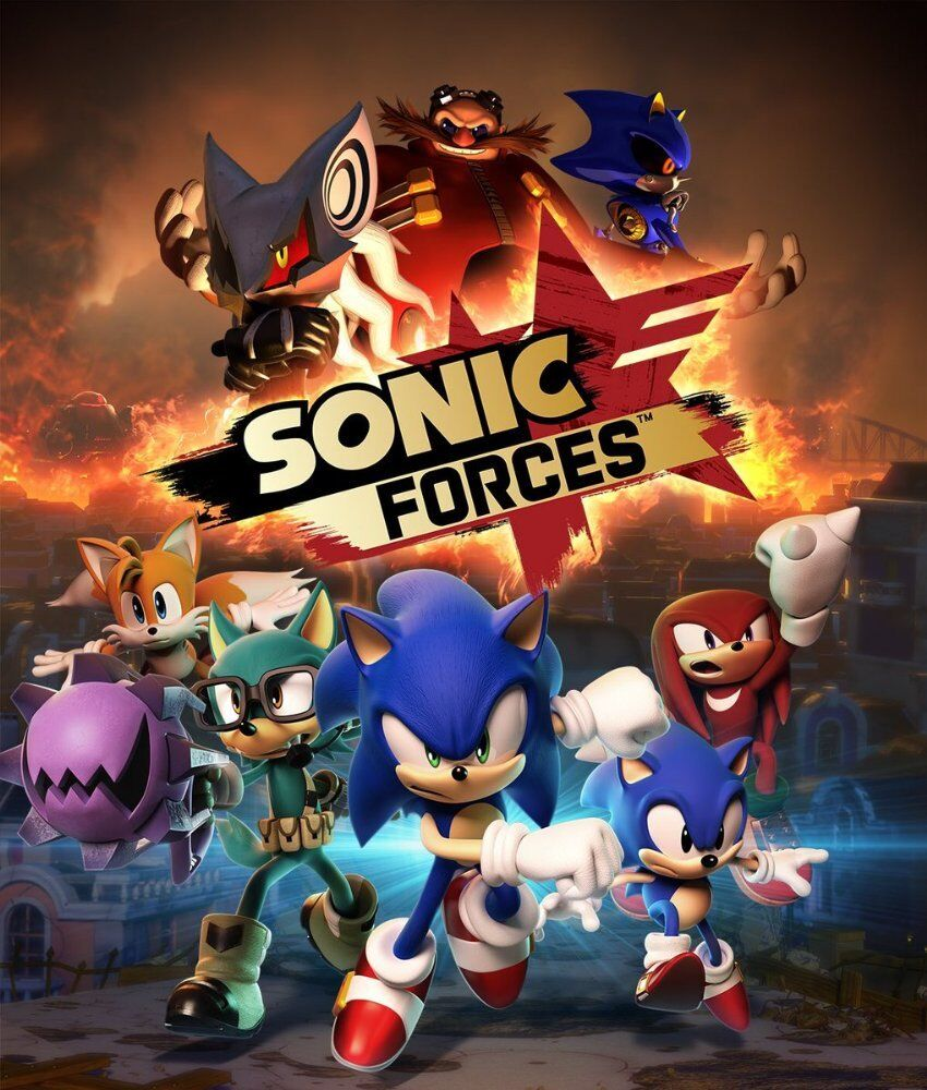 Sonic Forces Metallic Style Poster Sonic The Hedgehog Xbox One Nintendo Switch Ebay