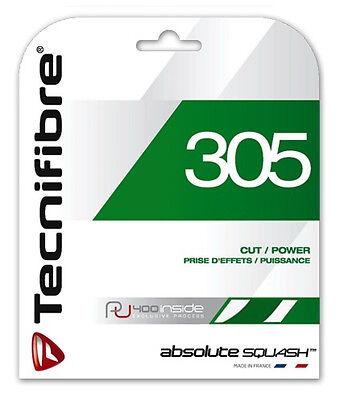 Tecnifibre 305 Green - Squash String - 9.7m - Set - 1.30mm / 16G - FREE UK P&P