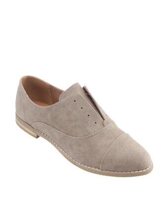 Indigo Rd. Hacksy Grey Leather Loafers, Size 9