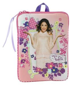disney violetta fleurs tablette sac 10 6 pouces ordinateur. Black Bedroom Furniture Sets. Home Design Ideas