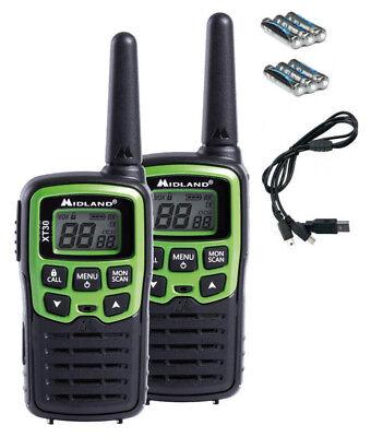 Midland Alan Dispositivo Radio XT-30 Pmr Batterie Strumento Wireless Set Ctcss