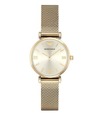 Emporio Armani Retro AR1957 Gold Stainless Steel Quartz Women's Watch