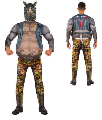 Mens Deluxe TMNT Rocksteady Rhino Costume