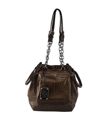 Dolce & Gabbana Miss Pocket Bronze Leather Shoulder Bag