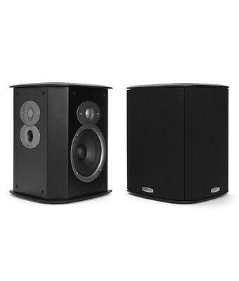 Polk Audio FXiA4 BLACK RTiA Di & BiPole Surround Speakers  PAIR