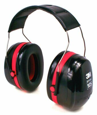 3m Peltor Optime 105 Over-the-head Earmuff Hearing Conservation H10a