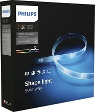 Philips Hue 2nd Gen Light Strip White and Color 800276 Color Changing Lightstrip
