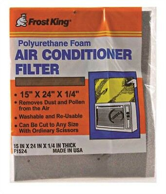Thermwell 471002 Frost King Washable Foam Air Filter For Air Conditioners
