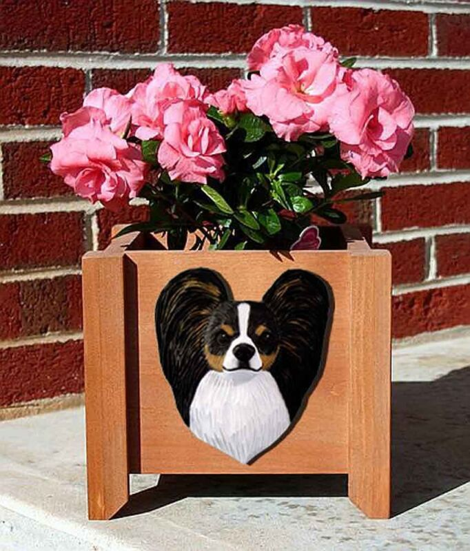 Papillon Planter Flower Pot Tri
