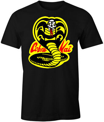 Cobra Kai Shirt T-Shirt Karate Kid Decal Patch Costume Gear Womens Mens - Karate Kid Costume