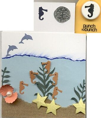 Small Seahorse Shape Paper Punch X Punch Bunch Quilling-scrapbook-cardmaking