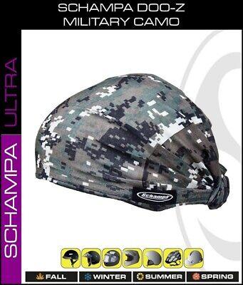 Green ACU Marpat Camo Schampa DOO-Z Headwrap Scarf Headwrap Durag Doo Rag Biker