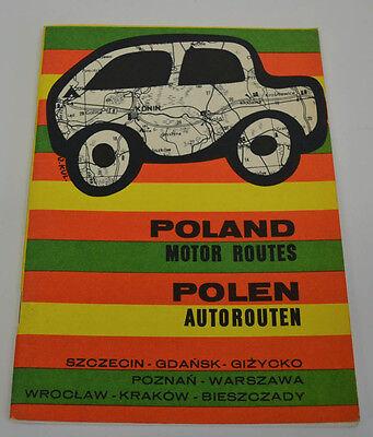 Poland Autorouten 1977 (AGK1440)