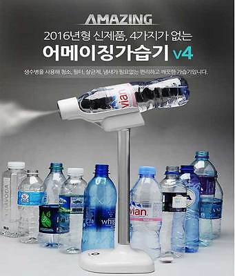 Amazing V4 Portable Humidifier Bottle Filter Purifier Summer  For Clean Air