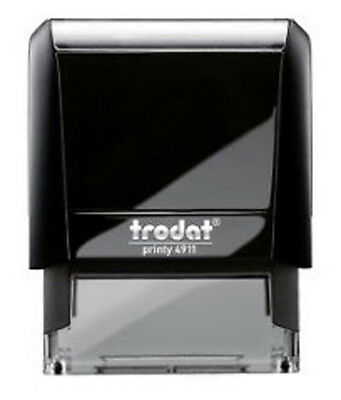 Trodat 4911 Custom Business Return Address Self Inking Rubber Stamp - Ideal 50