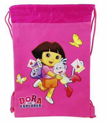 Dora the Explorer Drawstring Theme Park Tote Bag Backpack Gym Bag Hot